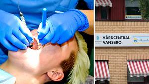 Bristen på tandläkare har slagit hårt mot folktandvården i Vansbro. Bilden är ett montage