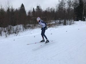 Frida Eriksson, Åsarna IK tävlade i D15. Foto: Ann Ragnvaldsson