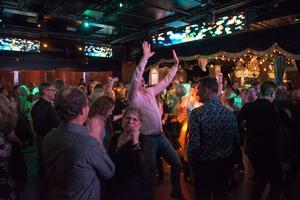 Dj Glorias 50-plusdisco på Publik i Västerås. Bild: Rex Keijser Addo