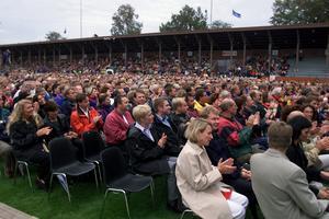 Sommaren 2000 intog Rhapsody In Rock Strömvallen i Gävle. I Gävle kanske någon även minns Cityfesten 1994 då Rhapsody in rock besökte Stortorget? Bild: Lars Wigert.