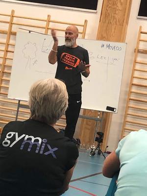 José Nunez föreläser