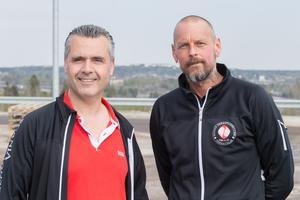 """Petrus Koc och Michael Lyngsie är fackligt förtroendevalda för IF Metall. """"Vi är jätteglada och stolta"""