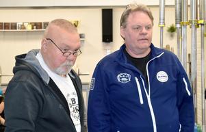 Nippe Sylvén och Bosse Johansson har byggt upp Borlänge atletklubbs ungdomssektion. För tolv år sedan fanns ingen aktiv ungdom, idag har Borlänge två representanter i juniorlandslaget i tyngdlyftning.