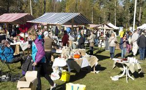 Marknaderna på Lögdö bruk brukar vara populära.