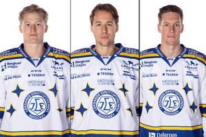 Lucas Nordsäter, August Berg och Mattias Göransson. Foto: Pelle Börjesson/Bildbyrån