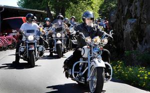 Custom Bike Show:s arrangörer räknar med cirka 6000 besökare med motorcykel och ungefär lika många besökare utan i år.