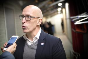 Fredrik Andersson, huvudtränare i Timrå IK.