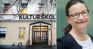 Foto; Måna J Roos/Stina stjernkvist/TT Utbildningsminister Anna Ekström (S) har svarat om kulturskolan.