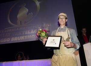 Krogpatrullens pris för årets lokala matupplevelse gick till Högbo Brukshotell för deras bonusförrätt picklat vaktelägg.