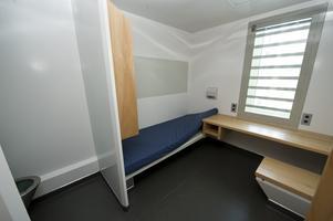 Häktescell i Sollentuna. Arkivbild: Fredrik Sandberg/TT