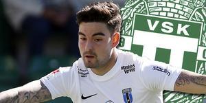 Diego Montiel uppges bryta sitt kontrakt med belgiska klubben Beerschot. VSK är beredda att plocka hem honom.