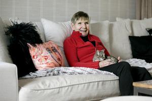 Ragnhild Lund är van vid djur. I december 2015 röstades hennes katt Doris fram till