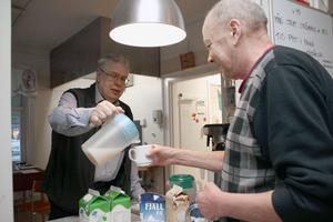 Frukosten är gratis på Ria-stugan i Falun.