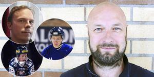 Jonas Lindqvist, Rickard Koch, Lucas Blom och Patrik Järmens. FOTO: Arkiv/TT