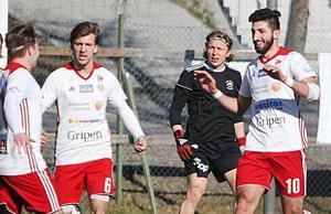 En lyckad trio bakom poängen i Kungsängen – Tobias Sandström, Johan Edberg och Cihan Sener.