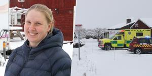 Mimmi Hedlund blev dagens hjälte när en brand utbrutit i grannens matvagn.
