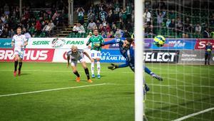 Jonathan Morsay sköt elegant 1–0 till Brage mot Gais. Men matchen slutade 1–1 till slut.