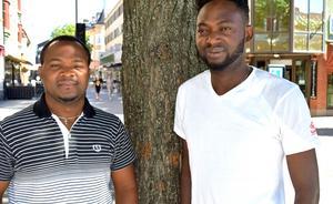Friday Onyemaechi och Abel Ekemba räknar med att en hel del möter upp till helgens festival.