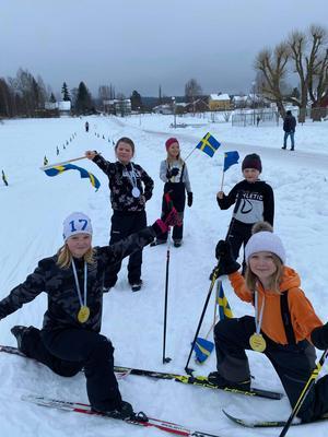 Många glada elever åkte Lillboloppet under fredagen. Foto: Linda Hasselqvist