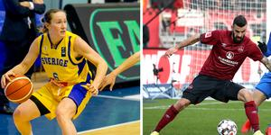 Frida Eldebrink och Mikael Ishak är exempel på två idrottare som inte hade haft möjlighet att vinna priset med de gamla stadgarna. Bild: TT/AP.