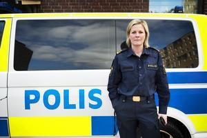 Josefine Perming Tengqvist, tillförordnad gruppchef vid grova brott på polisen i Västernorrland.