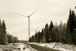 Den totala investeringen i Åskälens vindkraftpark är värd cirka tre miljarder kronor.