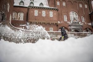 Snövädret fortsätter under veckan i hela länet.