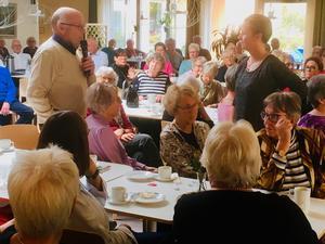 d1b7319375d Rune Andersson var en av mötesdeltagarna som ställde bra frågor till leg  fysioterapeut Kristin Vandér vid