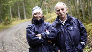 Solveig Johansson och Kent Eriksson sköter den nya dagverksamheten på Jamtli för pigga, fysiskt aktiva äldre med begynnande demenssjukdom.