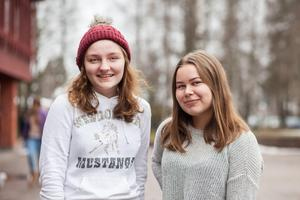 Linnea Johansson och Lovisa Andersson är båda spända på att få resa till Guatemala. De menar att det såhär i efterhand ändå var positivt att Anders Kompass ställde in föreläsningen på deras gymnasieskola.