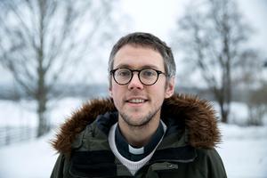 Kalle Bengtz var aktiv i simning i yngre år, nu har idrottsintresset varit vilande ett tag.