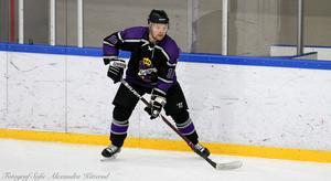 Förre Kramforsspelaren Emil Näsholm har spelat i Norge i många år. Nu kvalar hans Grüner till högsta ligan.                                                           Bild: Privat