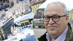 Entreprenören Lasse Bäckvall. Bilden är ett montage.
