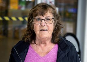 Mona Edström, 74 år, pensionär, Sundsvall