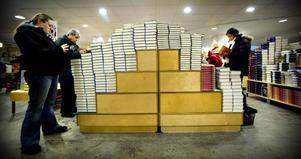 Efter Akademibokhandelns köp av konkurrerande kedjan Bokia finns det bara en reakatalog inför bokrean.Foto: Dan Hansson / SvD / TT