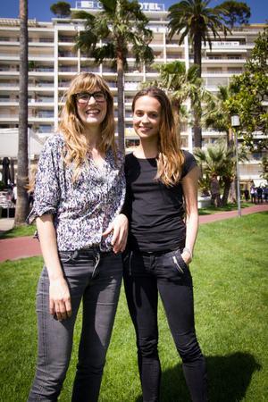 Alicia Vikander och Lisa Langseth presenterade sitt nästa filmsamarbete i Cannes.
