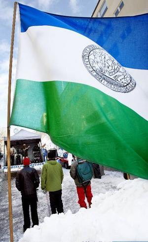 JRA anordnade ett nationaldagsfirande på Stjärntorget i Östersund, med artistuppträdanden och föräljning av Jämtlandsprylar.