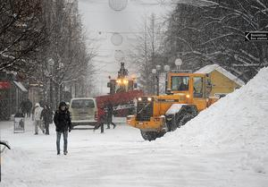 I fjol blev notan för snökostnaden för Sundsvalls kommun 40 miljoner sämre än budget. I år har vintern varit mer gynnsam, men kommunen räknar ändå med ett underskott.