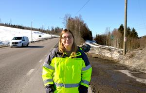 Ulrika Sundgren, projektledare, Trafikverket.