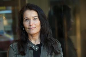Programledaren och författaren Agneta Sjödin. Foto: TT