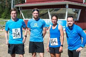 Team Bergeforsen var först i mål av de som sprang