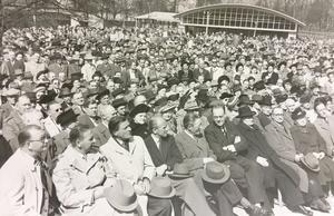 1 maj i Folkets park 1950.
