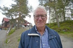 Janne Eriksson, 59, platschef, Sundsvall.