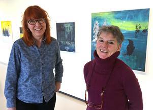 Ingela Bauer och Georgianna Kralli var med och startade Gaia-gruppen.