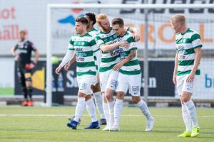 Filip Tronêt gjorde VSK:s 1–0 i första halvlek.   Foto: David Lidström Hultén/BILDBYRÅN