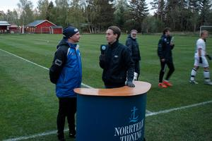 Mikael Douhan vann serien med Rådmansö SK under sitt första år som huvudtränare – men väljer nu att tacka för sig.