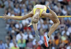 Erika Kinsey. Foto: Matthias Schrader/AP/TT