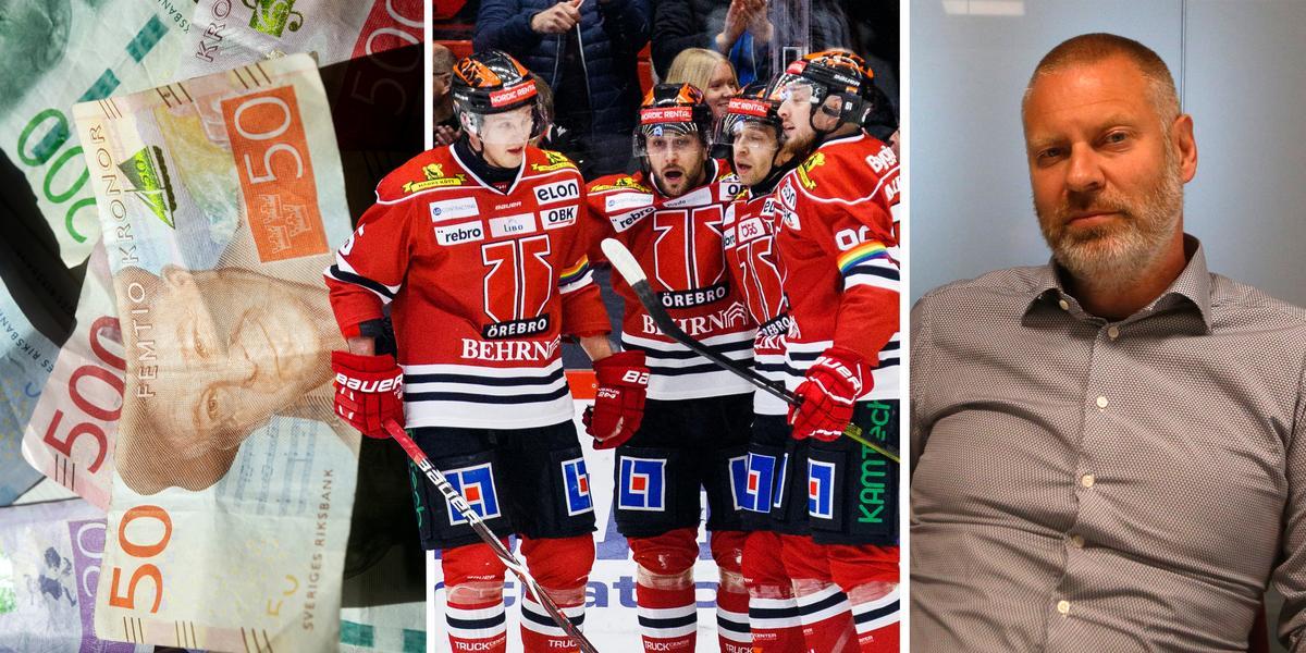 """Uppgörelsen och krisstöd ger Örebro Hockey miljoner – så ska de användas: """"Det är en positiv effekt"""""""