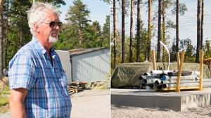 Bygget på Bråstaborg har tagit lång tid och lär dröja ytterligare några år.