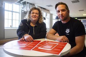 Yvonne Kristiansson och Daniel Pettersson har fått fin respons från både skolor och föräldrar på att de anordnar denna dag.